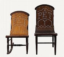 Bentwood child's/dolls chairs