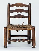 Child's three-slat chair