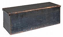 Gray/green pine blanket chest