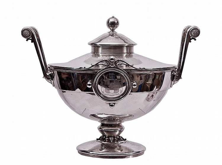 STERLING SILVER TUREEN
