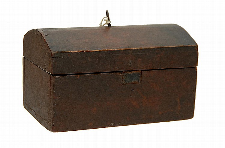 19TH C. WORK BOX OF ISAAC SPRAGUE'S