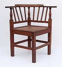 18th c. corner chair