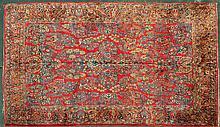 Roomsize Sarouk rug
