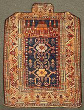Caucasian prayer rug 3' 2