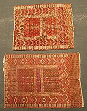 Two Turkoman prayer rugs: 5' 1