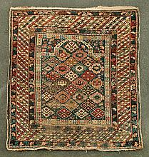 Prayer rug and two scatters
