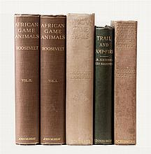 Five T Roosevelt sporting books