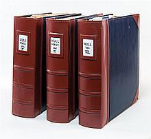 History of Hull ephemera, pamphlets, books