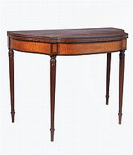 Early 19th c. card table