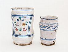 Persian tin glazed pots