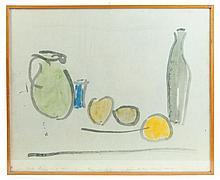 Watercolor, James Lechay 1967
