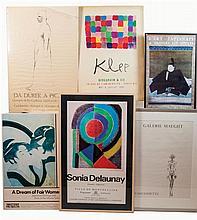 Ten art posters