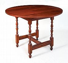 Dining table with two leaves