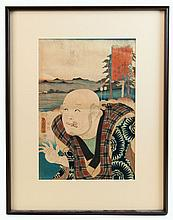 Two Utagawa Kunisada woodblock prints