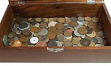 Large lot of coins and currency