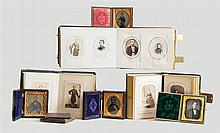 Three Civil War era photo albums