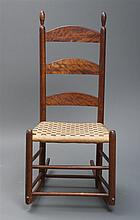 Rocking chair, no arms, minor repairs
