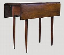 Drop leaf table, cherry
