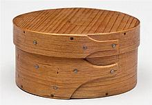 Small round box, 2 fingers