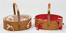 Two sewing carriers, SDL, interiors made by Flo Fertig