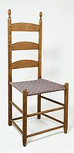 Side chair, tilter, 3-slat, stamped