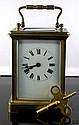 French Antique Carriage Clock Circa 1920