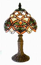 Tiffany-Style Small Arielle Accent Lamp 3148+SB33 W87