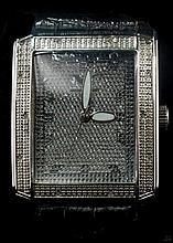 Diamond King Men Large Wristwatch W70(3)