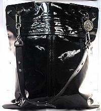 Lanvin Black Patent Bag W1800