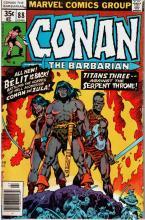 Marvel Comics: Conan the Barbarian W25