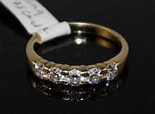 14KT YG 1.00ct Diamond Ring W3015