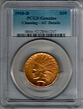 1910 $10 Gold Coin W4625