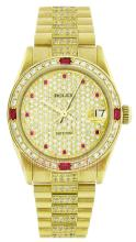 Rolex 18K Yellow Gold 31mm Datejust WA33303