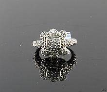 Judith Ripka Sterling Silver Ring W187
