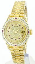 Rolex 18k Yellow Gold 31mm Lady Datejust WA30003