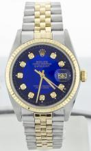 Rolex Stainless Steel&Yellow Gold 36mm Datejust WA9603