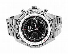 Breitling Stainless Steel 53mm Bentley Motors W24756