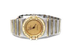 Ladies Omega Two-Tone Cnstellation Mini Watch W6388