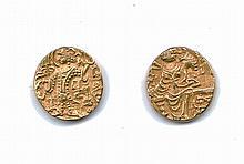 Kushan Gold Coin circa 400AD W901