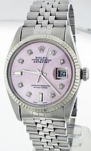 Rolex Stainless Steel 36mm Datejust 16014 WA9153