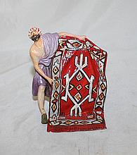 Antique Austrian Oriental Carpet Vendor Bronze W646
