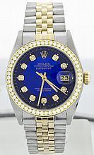 Rolex SS & 18k YG 36mm Datejust 16013 WA9003