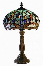 Tiffany Style Mini-Shade Hanging head Dragonfly Lamp