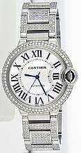 Cartier Stainless Steel 36.6mm ballon Bleu WA42003