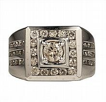 14k WhiteGold 3.00cts Diamond Ring W5890
