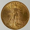 1924 $20 Gold Coin W7715