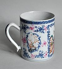 Chinese Famille Rose Export Porcelain Mug