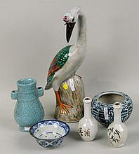 Six Asian Porcelain and Pottery Items