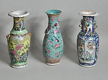 Group Three Chinese Porcelain Vases