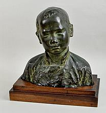 Asian School Bronze Sculpture,
